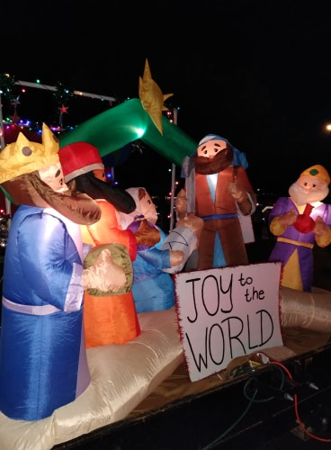 Joy Displayed At Mesquite Parade Of Lights 3