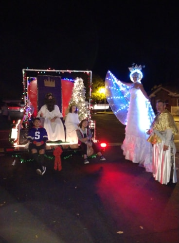 Joy Displayed At Mesquite Parade Of Lights 4
