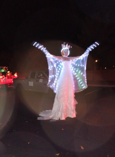 Joy Displayed At Mesquite Parade Of Lights 1