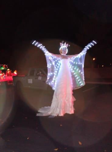 Joy Displayed At Mesquite Parade Of Lights 1