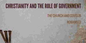 Christianity and the role of government