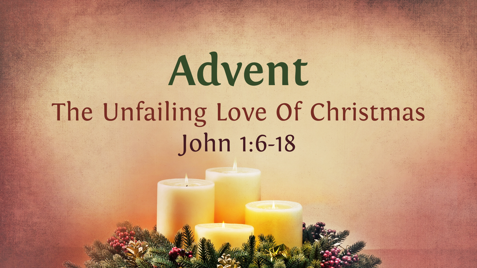 the unfailing love of Christmas