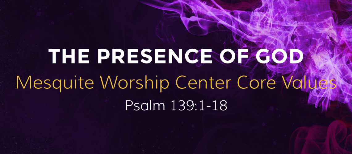 Walking In The Presence Of God